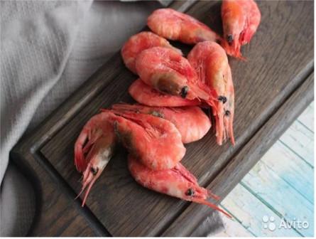 Креветка северная Сахалинская 50-70 штук в 1 кг