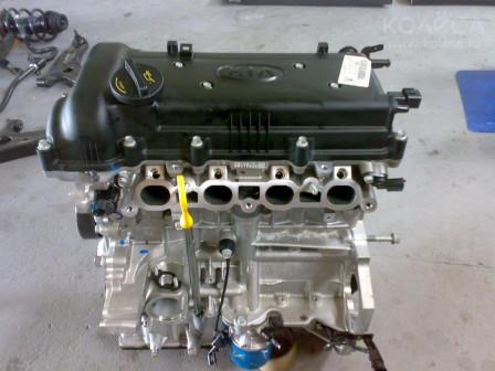 Двигатель G4FC 16 л LongBlock (без навесного)