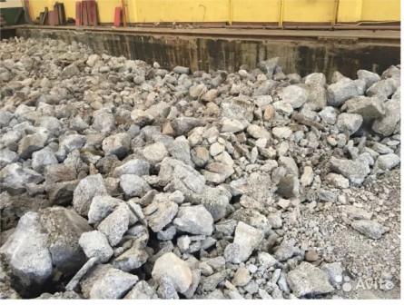 Бой бетона, бой кирпича с доставкой