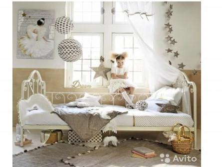 Кровать-софа белая Secret De Maison «Leto»