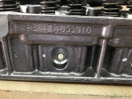 Головка блока цилиндров А 274, ГБЦ УМЗ Evotech А2741003010 20 под газ