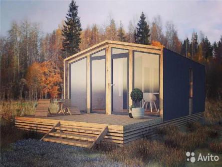 Готовый модульный дом