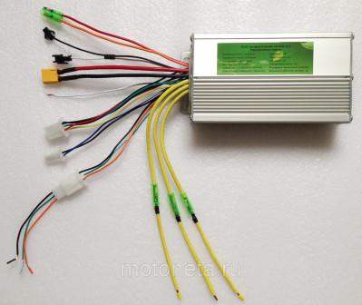 Контроллер LC 12 mosfet (бесколлекторный, BLDC) 36 48v (25 ампер) 800w