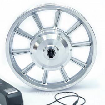 Мотор колесо 14 дюймов редукторное для электросамоката 350W
