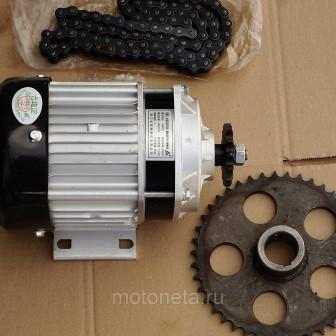 Двигатель велорикши 24 36 48В 500ВТ, подходит для небольших электромобилей