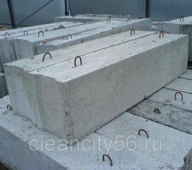 Фундаментные блоки, заборные блоки бу