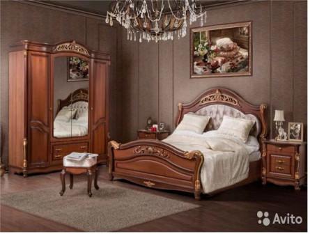 Спальня кассандра орех