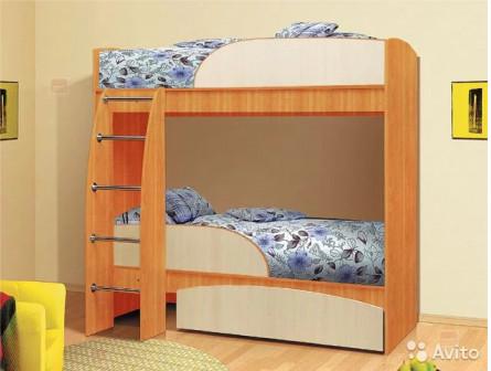 Детская Омега-4 (двухярусная кровать)