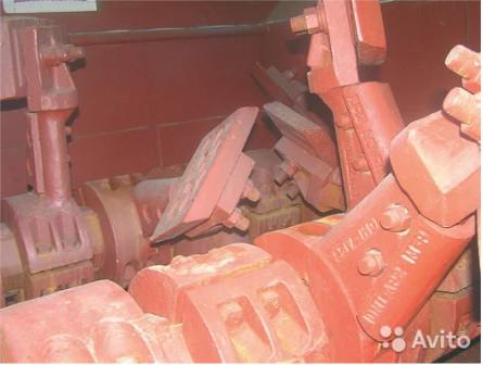 Рычаги для двухвального бетоносмесителя