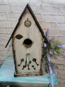 Скворечник деревянный для птиц