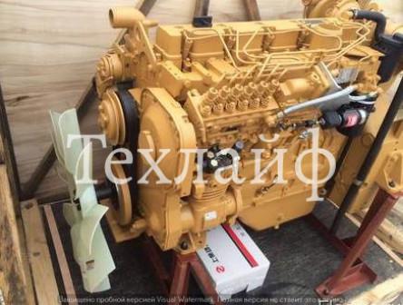 Двигатель Shanghai D6114ZG14B на грейдер MITSUBER MG165R