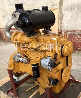 Двигатель Shanghai D6114ZG9B (SC8D170G2B1) для грейдеров GR165 и GR180; для погрузчиков LW400K и CLG