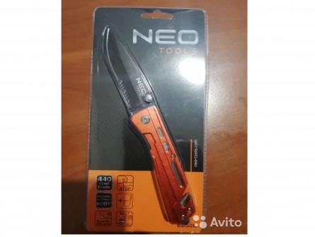 Складной нож с фиксатором NEO 63-026
