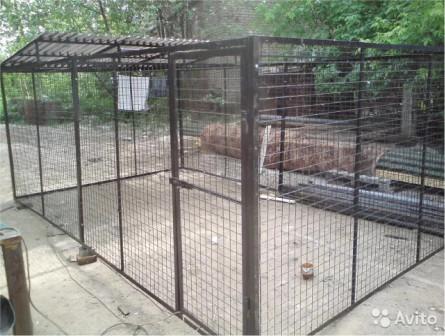 Вольеры для собак и не только