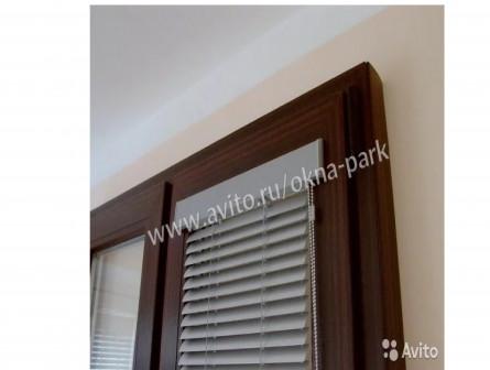 Горизонтальные алюминиевые жалюзи Изолайт 900х1300