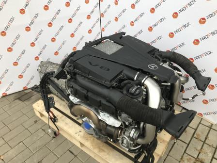 Двигатель Мерседес S class S 500 M278929 4,7 бензин W 222