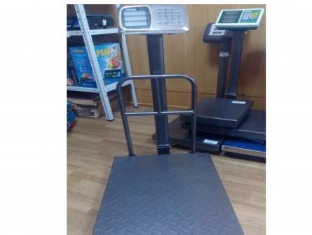 Весы торговые платформенные 500 кг