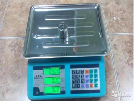 Торговые весы на 40кг- BP 4900 40 5дб 06