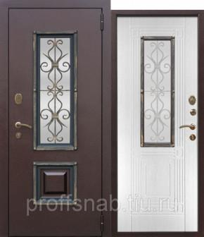 Дверь металлическая коттеджная 7.5 см. МДФ ВЕНЕЦИЯ (Израиль)