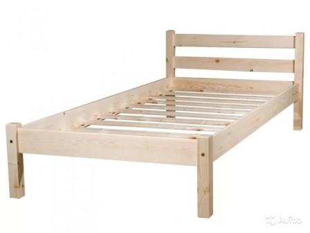 Кровать деревянная сосна