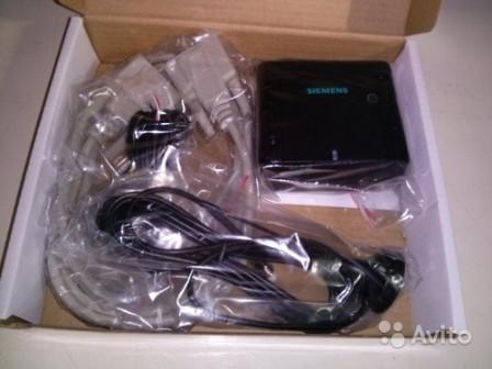 Модемы siemens антенна 3 db com и питания кабель