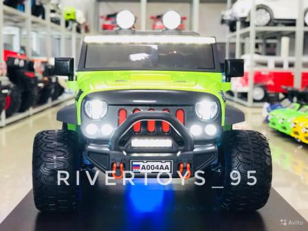 Электромобиль Внедорожник Jeep A004AA
