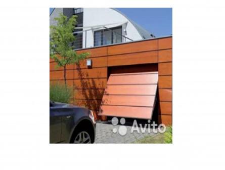 Ворота гаражные секционные, Двери, Шлагбаумы
