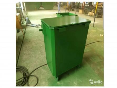 Мусорные баки (мусорные контейнеры) тбо 0,8м3