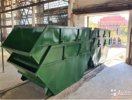 Мусорные контейнеры 8м3 / Бункера для мусора 8м3