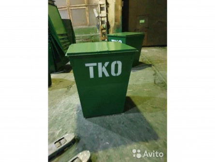 Мусорные баки (мусорные контейнеры) тко 0,75м3
