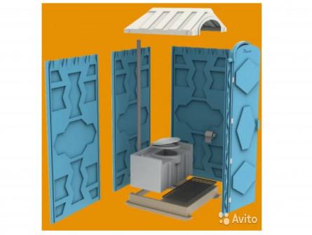 Биотуалет. Дачный туалет-уличная туалетная кабина