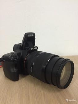 Sony Alpha SLT - A37 + Объектив Sony SAL 18135
