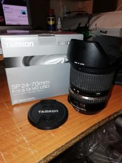 Объектив Tamron 24-70/2.8 VC для Nikon
