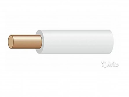Кабель пугвнг(А) -LS 1x240 (Белый)