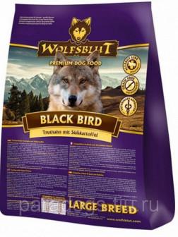Корм Wolfsblut Для Собак Черная Птица Крупные Породы 2кг(срок годности до 101219г)