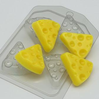 Форма пластиковаяСыр треугольный 4мини