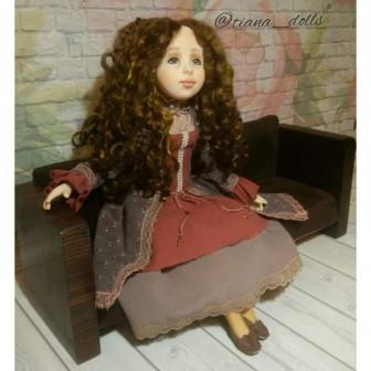 Диван для кукол