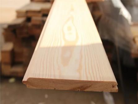 Вагонка штиль из лиственницы 14x120 от2-4м Прима