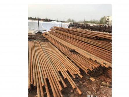 Труба металлическая для заборных столбов