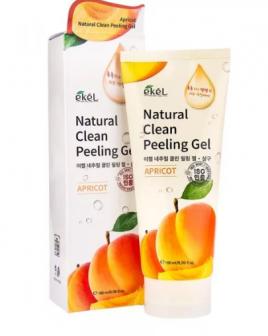 Ekel Natural Clean Peeling Gel Apricot 180ml   Пилинг с экстрактом абрикоса 180мл