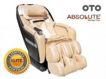Массажное кресло OTO Absolute AB 02 Шампань (натуральная кожа)