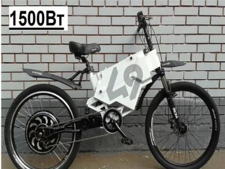 Электровелосипед Oblivion - 55 кмч