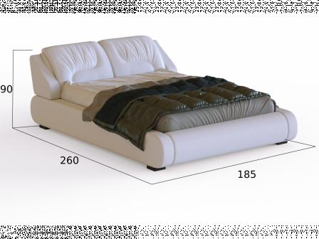 """Кровать с матрасом """"Валенсия"""""""