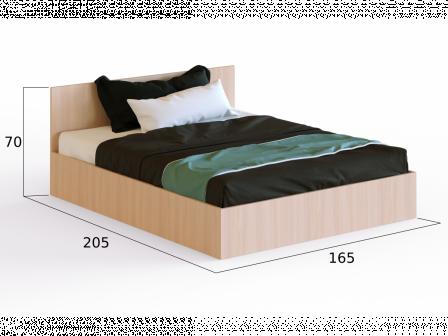 """Кровать с матрасом """"Милена"""""""
