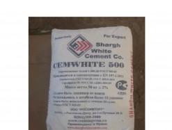 Цемент белый м500 Иран