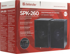 Колонки 2.0 Defender SPK-260