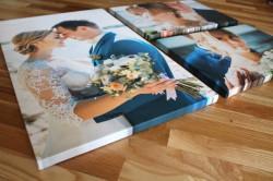 Холст с вашим фото на подрамнике + покрытие художественным лаком