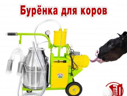 Доильный аппарат для коров Буренка