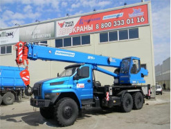 Автокран 25 тонн Урал