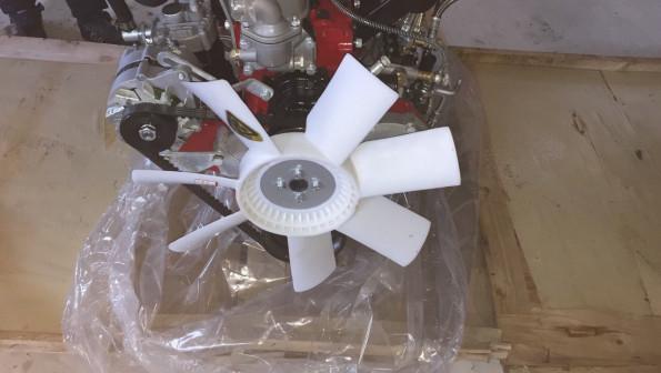 Двигатель в сборе SIDA SD4DW55 оригинал (SD4BW45)